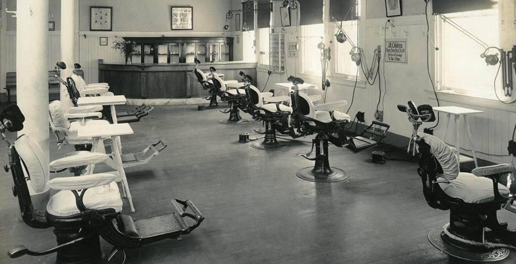 orthodontic clinic 1916