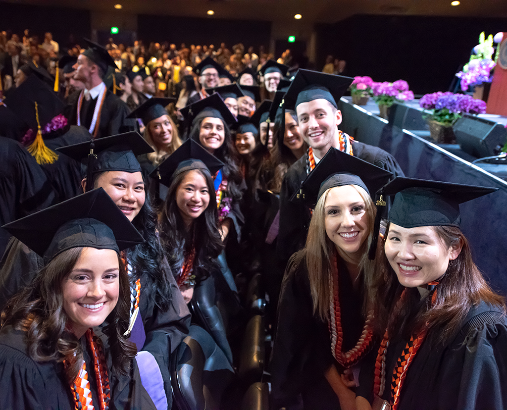 Class of 2018 Dental Hygiene Students are First to Graduate from the Dental School's San Francisco Campus