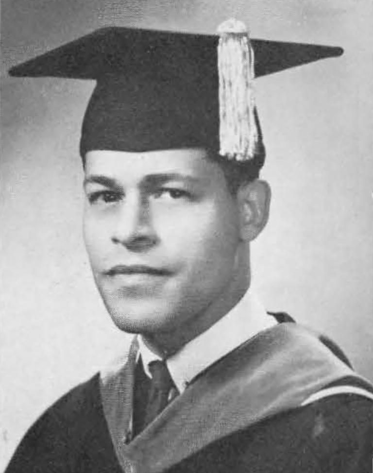 Dr. Edward Bryan yearbook photo