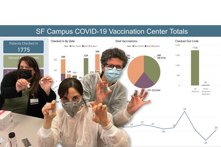 Dugoni School Launches Vaccination Center in Fight Against COVID-19